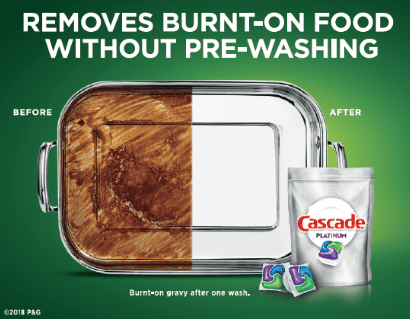 graphic relating to Cascade Coupons Printable referred to as Preserve Huge upon Cascade Detergent Currently!\