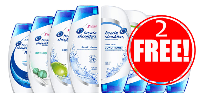 2 Free Head & Shoulders
