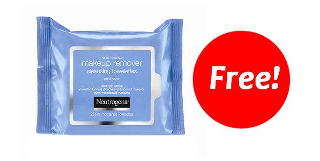 FREE Neutrogena Wipes–Print Coupon NOW