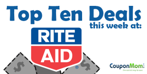 Top Ten Rite Aid deals of the week