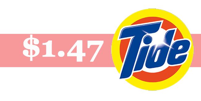 Walmart 1 47 Tide Detergent Couponmom Blog