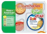Lunchables with fruit