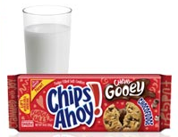 Nabisco cookies and milk