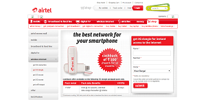 Airtel 3G Dongle Discount Coupon