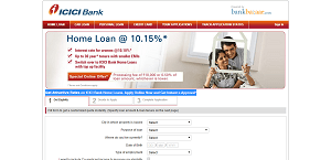 Apply for ICICI Bank Home Loan