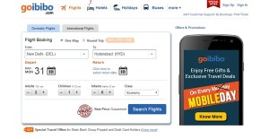 goibibo offer deal discount