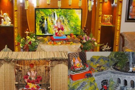 Eco friendly Home Decoration for Ganesha   The Royale September 13  2015 Go eco friendly not just with Ganesha but its decor too   TheRoyaleIndia