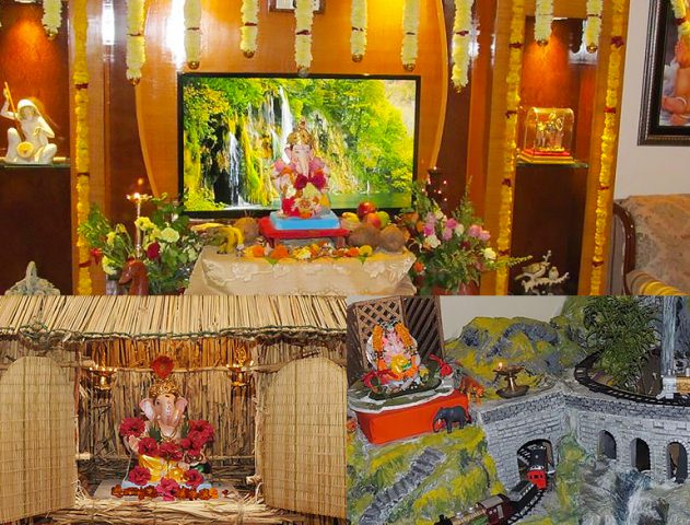 September 13 2017 Go Eco Friendly Not Just With Ganesha But Its Decor Too Theroyaleindia
