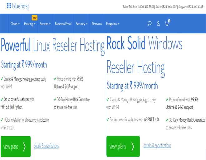 Bluehost coupon India, discount on Reseller hosting coupon code, coupon 2018
