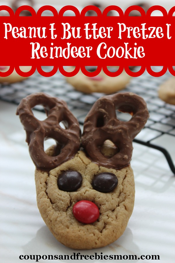 Peanut Butter Pretzel Reindeer Cookie Coupons And
