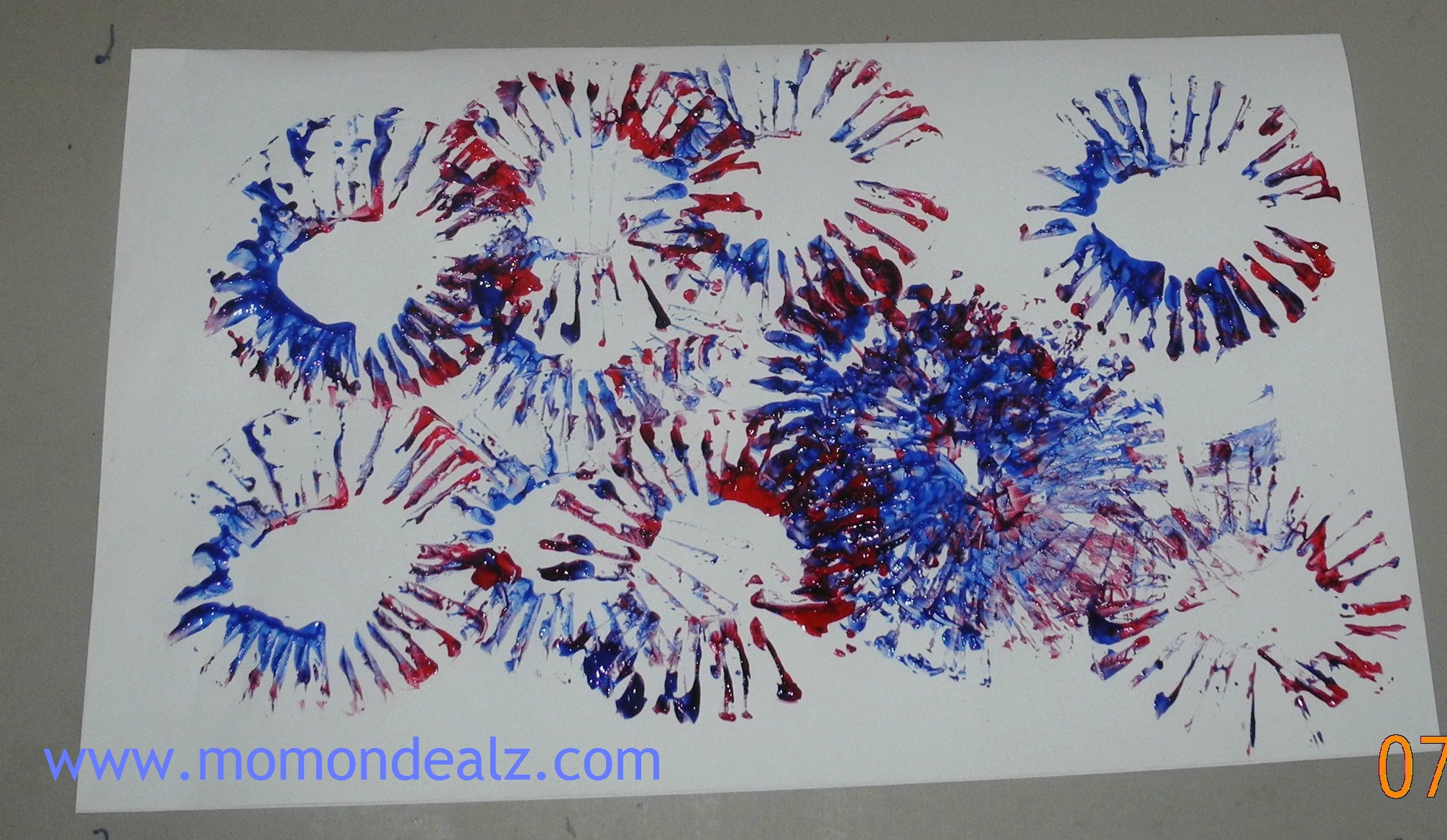 Independence Day Craft For Kids Spectacular Fireworks