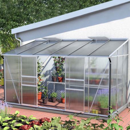 serre jardin verre trempe 7 8m