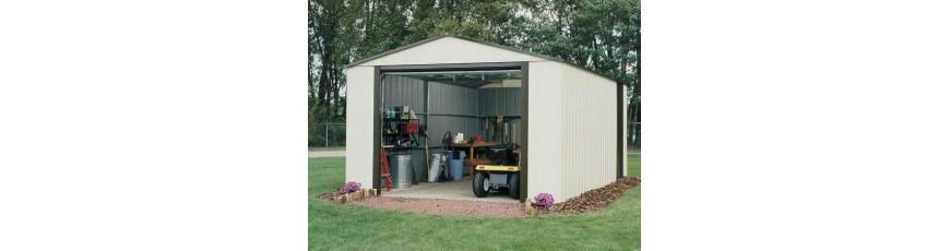 Garage Metallique Voiture Achat Garages Metal Et Abris Metalliques Cour Et Jardin