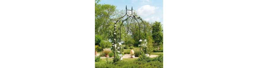 Pergola De Jardin Pergola Decorative Pour Plantes Grimpantes Cour Et Jardin