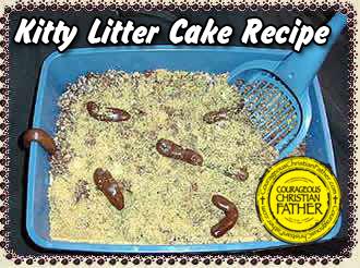 Kitty Litter Cake Recipe