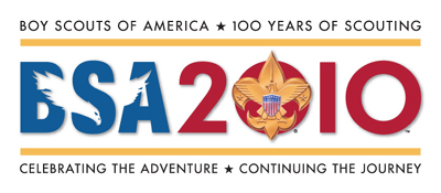 Boy Scouts BSA 2010 100 Years of Scouting