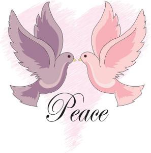 Peace Clip art by www.birdclipart.com