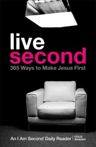 live second 365 Ways to Make Jesus First book cover