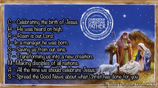 Christmas acronym
