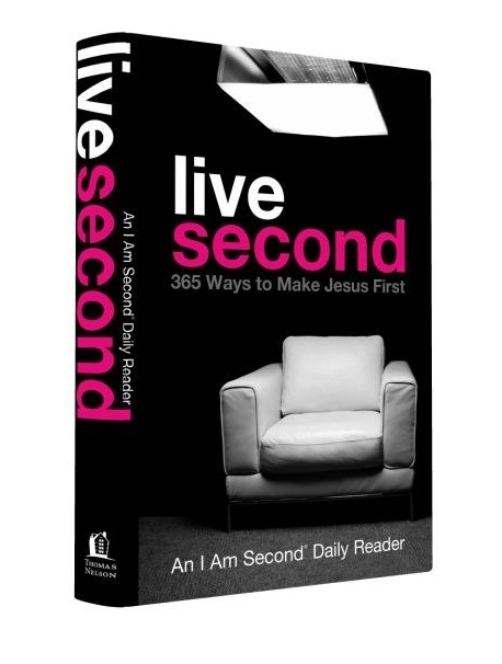live second book cover (365 ways to make jesus frist) Live Second Launch Week Coming Soon!