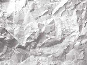Crumbled up paper