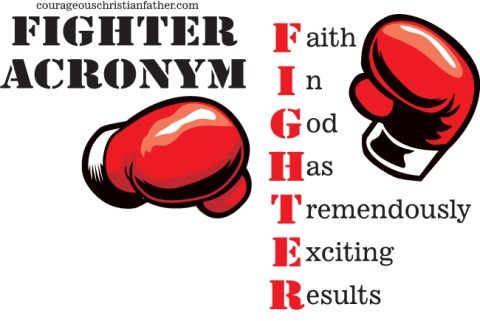 Fighter Acronym - Faith In God Has Tremendously Exciting Results