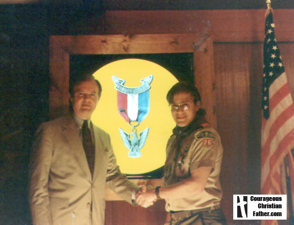 Steve's Eagle Scout Banquet March 14, 1995