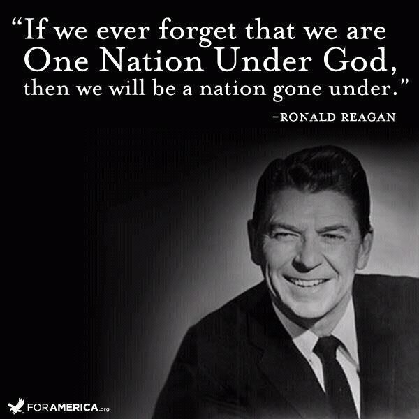 Ronald Reagan Quote about God