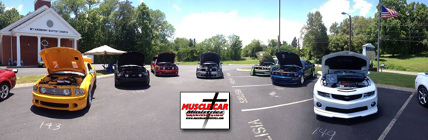 Muscle Car Ministries Car Show