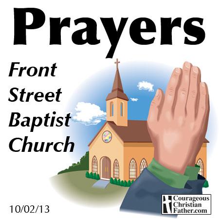 Prayers Front Street Baptist Church