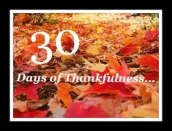 30 Days of Thanksgiving Day 7