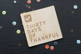 30 Days of Thanksgiving Day 5