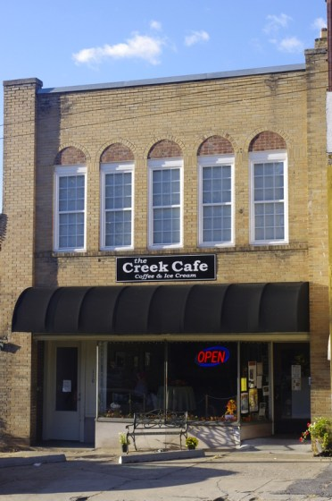 The Creek Cafe - photo from their web site
