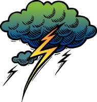 lightening clipart by Metro Creative Services