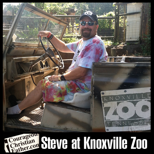 Steve at the Knoxville Zoo