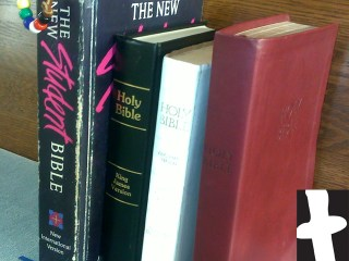 Stack of Bibles