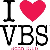 I heart VBS - Vacation Bible School
