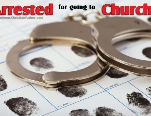 Arrested for going to Church