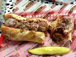 Firehouse Meatball Sub