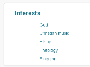 God Profile