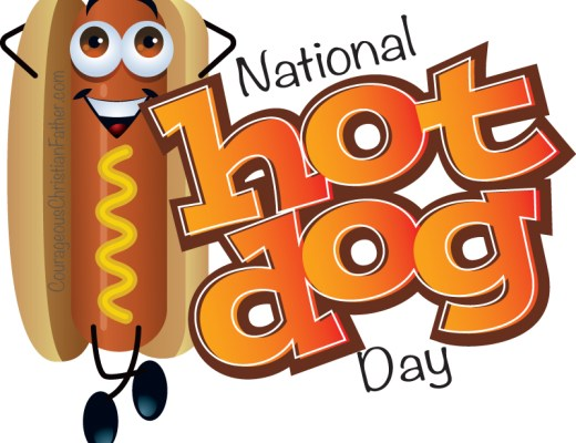 National Hot Dog Day #NationalHotDogDay