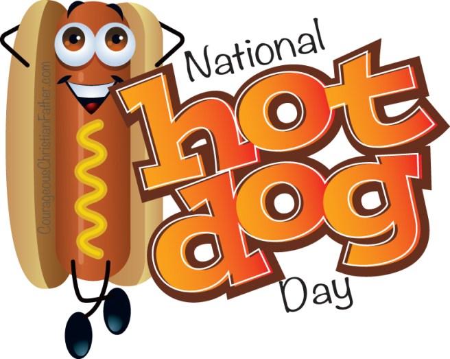 National Hot Dog Day #NationalHotDogDay