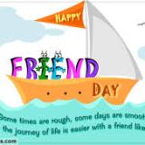 friendship day graphic by 123 greetings