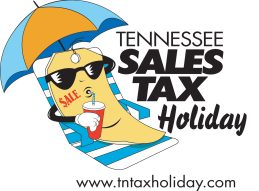 Tennessee Sales Tax Holiday Logo