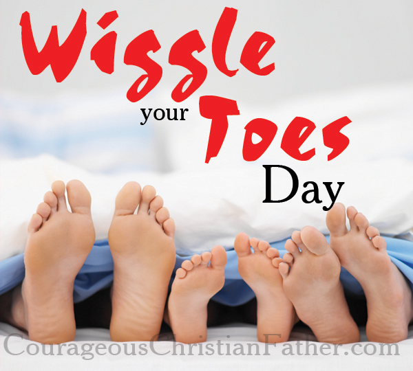 Wiggle Your Toes Day
