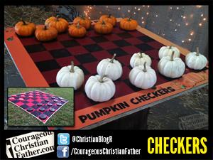 Checkers & Pumpkin Checkers at Adventure Ranch