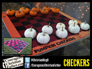 Checkers & Pumpkin Checkers at Adventure Ranch