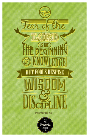 Proverbs 1:7 (image by Enfuzed)