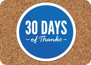 30 Days of Thanksgiving Day 21