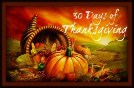 Day Days of Thanksgiving: Day 27